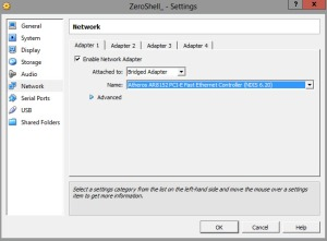 2.adapter setting
